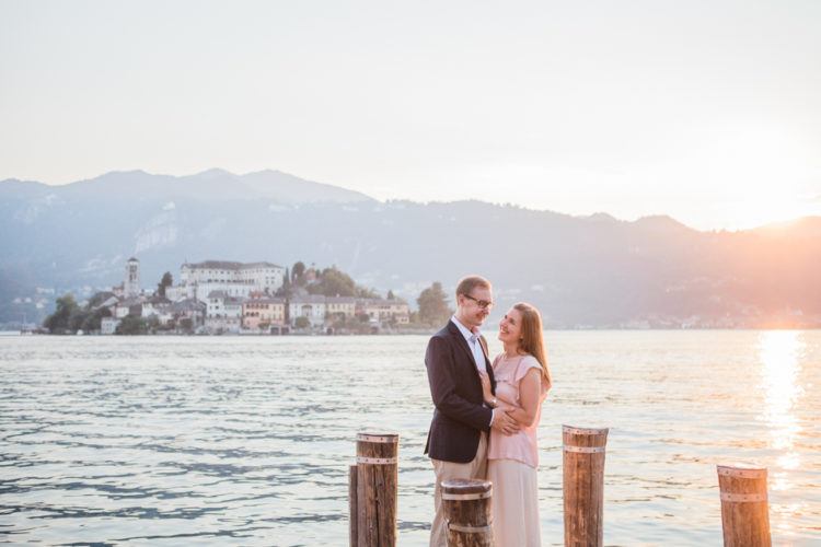 Honeymoon session in Orta San Giulio