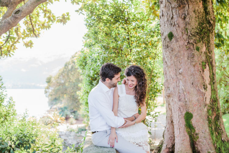 Lake Maggiore engagement photographer | Borromean Islands