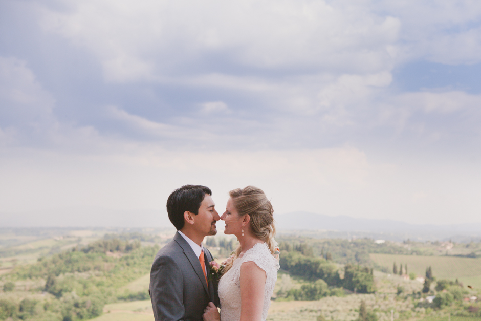 wedding photographer tuscany san gimignano