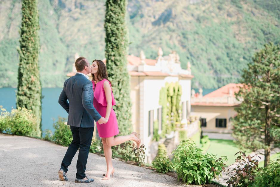 engagement shooting villa del balbianello