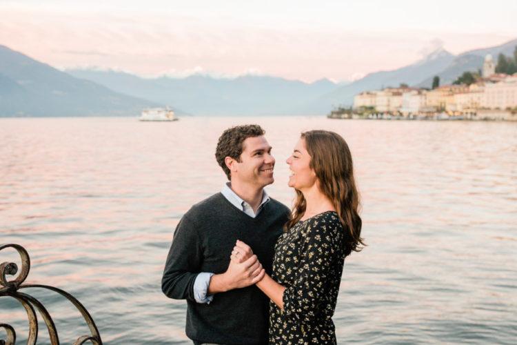 Engagement session in Bellagio, Lake Como