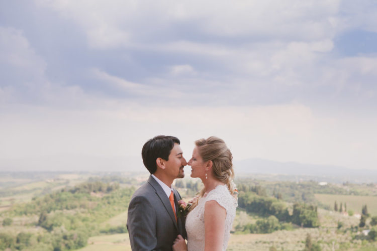 Tuscany wedding photographer | San Gimignano