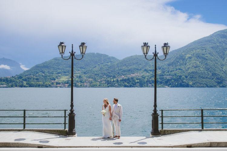 Destination wedding photographer Lake Como, Villa Carlotta