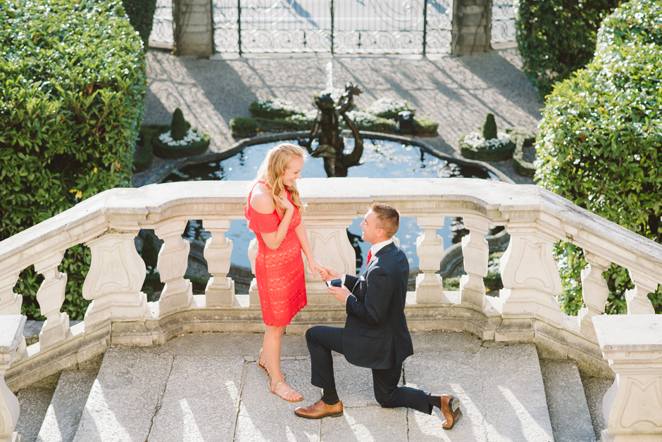 Proposal Photographer Lake Como A Romantic Marriage Proposal In