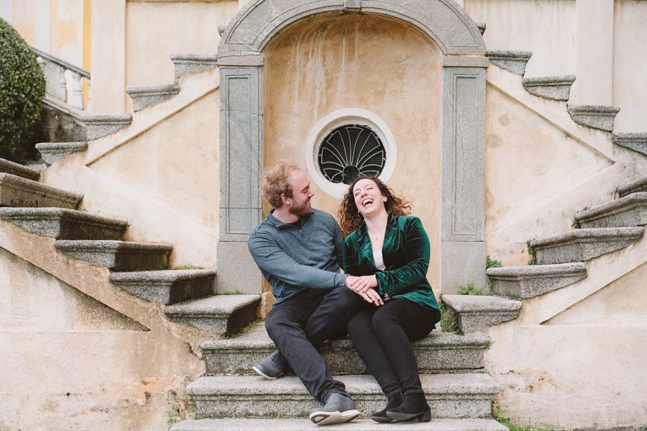 Anniversary photo shoot Italy | A walk around Orta San